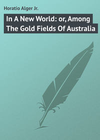 Купить книгу In A New World: or, Among The Gold Fields Of Australia, автора Horatio  Alger Jr.