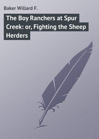 Купить книгу The Boy Ranchers at Spur Creek: or, Fighting the Sheep Herders, автора