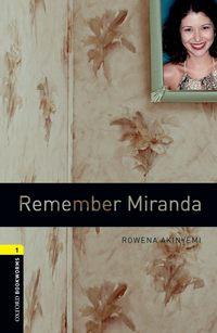 Книга Remember Miranda - Автор Rowena Akinyemi