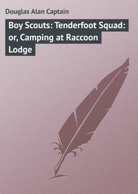 Книга Boy Scouts: Tenderfoot Squad: or, Camping at Raccoon Lodge