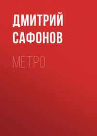 Книга Метро - Автор Дмитрий Сафонов