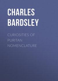 Купить книгу Curiosities of Puritan Nomenclature, автора