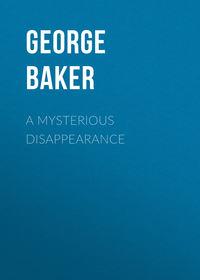 Купить книгу A Mysterious Disappearance, автора