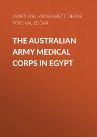 Купить книгу The Australian Army Medical Corps in Egypt, автора James W. Barrett