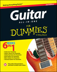 Книга Guitar All-In-One For Dummies - Автор Jon Chappell