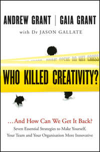 Who Killed Creativity?. ...And How Do We Get It Back?