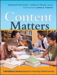 Content Matters. A Disciplinary Literacy Approach to Improving Student Learning