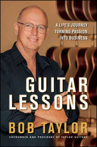 Guitar Lessons. A Life's Journey Turning Passion into Business