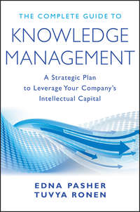 The Complete Guide to Knowledge Management. A Strategic Plan to Leverage Your Company's Intellectual Capital