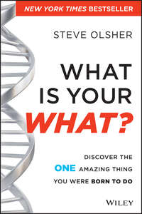 What Is Your WHAT?. Discover The One Amazing Thing You Were Born To Do