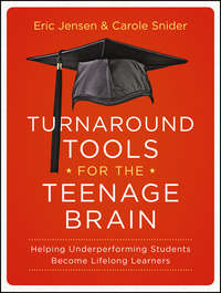 Turnaround Tools for the Teenage Brain. Helping Underperforming Students Become Lifelong Learners