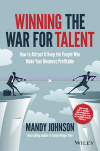 Winning The War for Talent. How to Attract and Keep the People to Make the Biggest Difference to Your Bottom Line