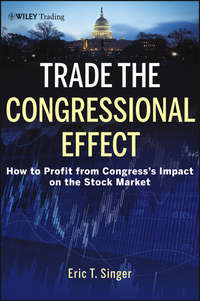 Trade the Congressional Effect. How To Profit from Congress's Impact on the Stock Market