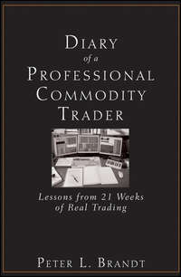 Diary of a Professional Commodity Trader. Lessons from 21 Weeks of Real Trading