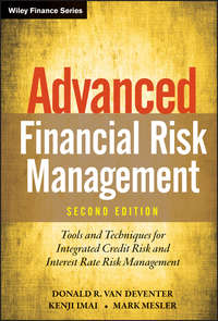 Advanced Financial Risk Management. Tools and Techniques for Integrated Credit Risk and Interest Rate Risk Management