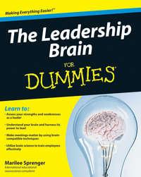 Книга The Leadership Brain For Dummies - Автор Marilee Sprenger