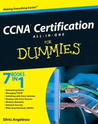 Книга CCNA Certification All-In-One For Dummies - Автор Silviu Angelescu