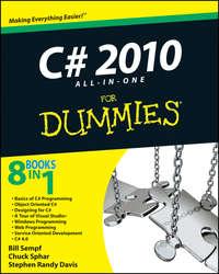 Книга C# 2010 All-in-One For Dummies - Автор Bill Sempf
