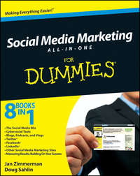 Книга Social Media Marketing For Dummies® - Автор Jan Zimmerman