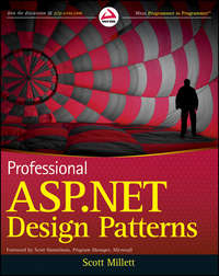 Книга Professional ASP.NET Design Patterns - Автор Scott Millett