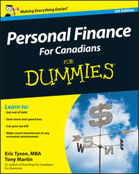 Книга Personal Finance For Canadians For Dummies - Автор Tony Martin