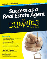 Книга Success as a Real Estate Agent for Dummies - Australia / NZ - Автор Terri Cooper