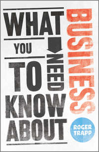 Книга What You Need to Know about Business - Автор Roger Trapp