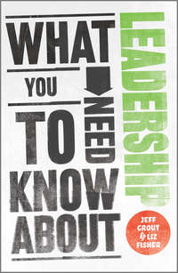 Книга What You Need to Know about Leadership - Автор Jeff Grout