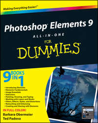 Книга Photoshop Elements 9 All-in-One For Dummies - Автор Barbara Obermeier