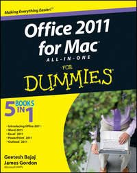 Книга Office 2011 for Mac All-in-One For Dummies - Автор James Gordon