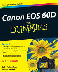 Книга Canon EOS 60D For Dummies - Автор Robert Correll