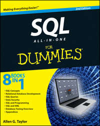 Книга SQL All-in-One For Dummies - Автор Allen Taylor