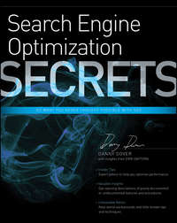 Книга Search Engine Optimization (SEO) Secrets - Автор Danny Dover