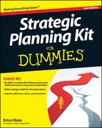 Книга Strategic Planning Kit For Dummies - Автор Erica Olsen