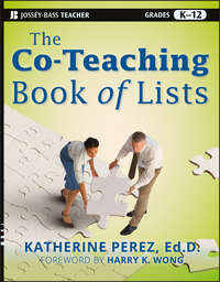 Книга The Co-Teaching Book of Lists - Автор Harry Wong