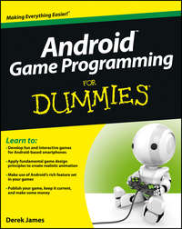 Книга Android Game Programming For Dummies - Автор Derek James