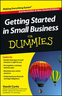 Книга Getting Started in Small Business For Dummies - Автор Veechi Curtis