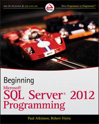 Книга Beginning Microsoft SQL Server 2012 Programming - Автор Paul Atkinson