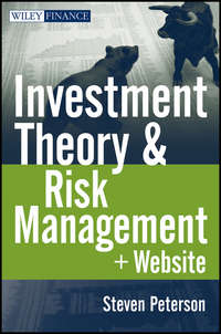 Книга Investment Theory and Risk Management - Автор Steven Peterson
