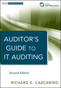 Книга Auditor's Guide to IT Auditing - Автор Richard Cascarino