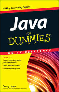 Книга Java For Dummies Quick Reference - Автор Doug Lowe