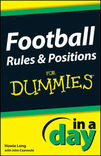 Книга Football Rules and Positions In A Day For Dummies - Автор Howie Long