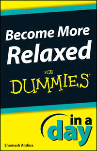 Книга Become More Relaxed In A Day For Dummies - Автор Shamash Alidina