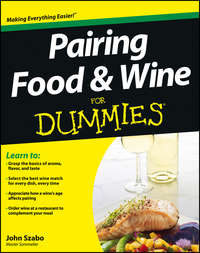 Pairing Food and Wine For Dummies