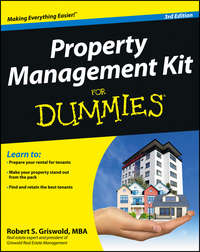Книга Property Management Kit For Dummies - Автор Robert Griswold