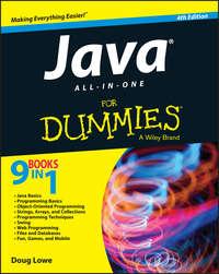 Книга Java All-in-One For Dummies - Автор Doug Lowe