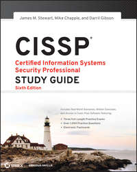 Книга CISSP: Certified Information Systems Security Professional Study Guide - Автор Mike Chapple