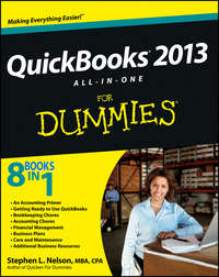 Книга QuickBooks 2013 All-in-One For Dummies - Автор Stephen Nelson