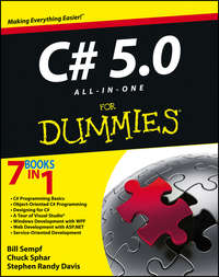 Книга C# 5.0 All-in-One For Dummies - Автор Bill Sempf