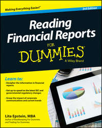 Книга Reading Financial Reports For Dummies - Автор Lita Epstein